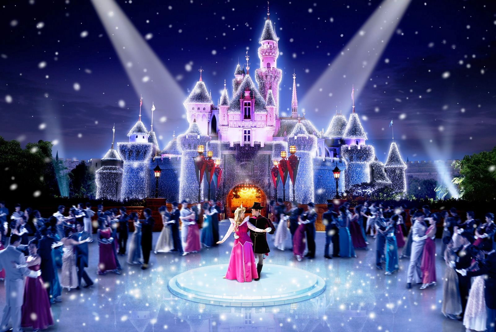 Christmas In Disneyland Hong Kong.Royal Christmas Ball Disney Wiki Fandom Powered By Wikia