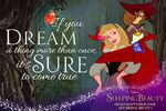 Sleeping Beauty Diamond Edition If you Dream a Thing More Than Once it's Sure to Come True Promotion