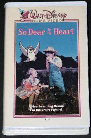 So Dear To My Heart (1986 VHS)