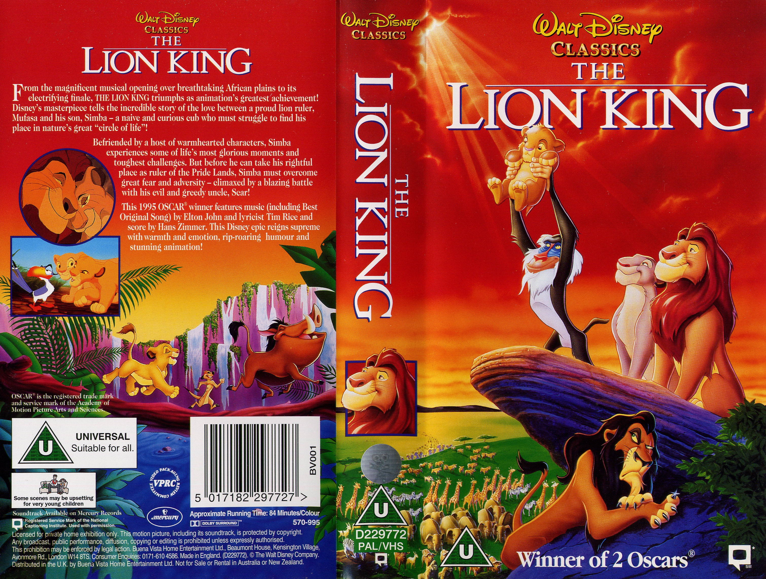 the circle of life in the lion king a movie by walt disney