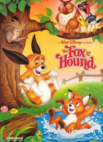 File:The Fox and the Hound 1988 Re-Release Poster.jpg