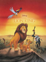 The Lion King Comic Reprint by Joe Books