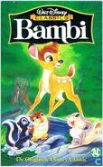 Bambi 1999 Dutch VHS