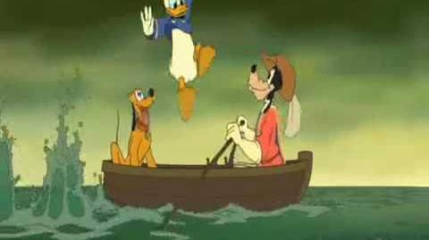 Disney's The Three Musketeers- Angry Donald Duck