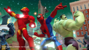 Disney INFINITY Superheroes toy box