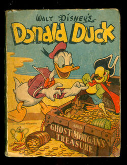 Donald duck and ghost morgans treasure