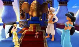Jasmine, Ali and Abu - Disney Magical World
