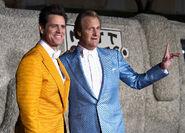 Jim Carrey & Jeff Daniels Dumb&Dumber2 premiere