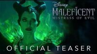 Official Teaser Disney's Maleficent Mistress of Evil - In Theaters October 18!