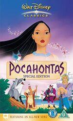 Pocahontas (2005 UK VHS)