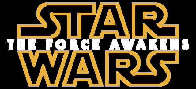 image - star wars the force awakens transparent logo | disney