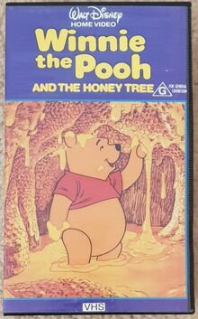 Winnie the Pooh and the Honey Tree 1986 AUS VHS