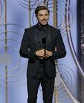 Zac Efron 75th Golden Globes
