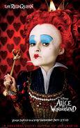 Alice in Wonderland Red Queen Poster