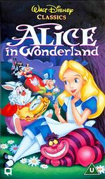 Alice in Wonderland UK VHS (1995)