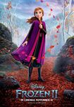 Anna International Frozen II Poster