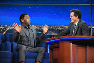 Anthony Anderson visits Stephen Colbert