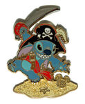 DLR - Pirates of the Caribbean - Golden Mickey Icon Collection - Stitch