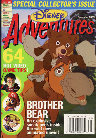 File:Disney Adventures Magazine cover November 2003 Brother Bear.jpg