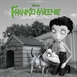 Frankenweenie OST cover artwork