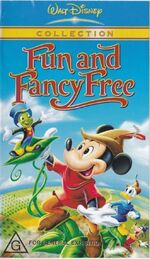 Fun and Fancy Free 2003 AUS VHS