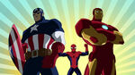 Ironman&Captain America-Ultimate Spider-Man