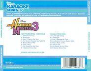 Karaoke hannah montana 3 back