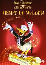 Melody Time Spain DVD