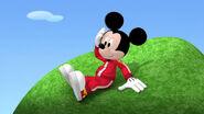 Mickey on the tree