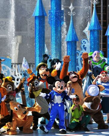 Happy Anniversary Disneyland Paris