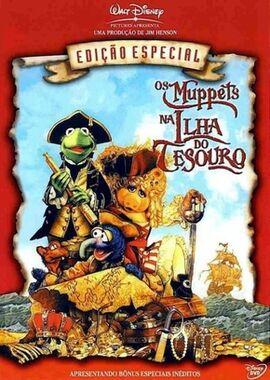 Os Muppets na Ilha do Tesouro - 1996 capa