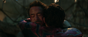 Spider-Man & Iron Man Hug