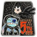 Star Wars - Revenge of the 5th - Emperor Palpatine Stitch and Darth Vader Goofy