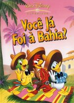 The Three Caballeros Brazil DVD