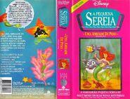 VHS - A Pequena Sereia Series - Uma Amizade de Peso