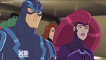 Black Bolt n Medusa AUR 1