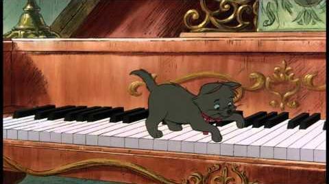 De Aristokatten Liedje Poot Voor Poot Voor Kattenpoot Disney BE