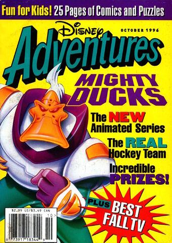 File:Disney Adventures Magazine cover October 1996 MIghty Ducks.jpg