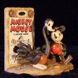 Disney Mickey Mouse Gallopin Gaucho rare figurine