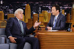 Jay Leno visits Tonight Jimmy Fallon