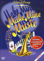 Make Mine Music Sweden DVD