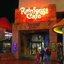 Rainforest Cafe at Disney Village