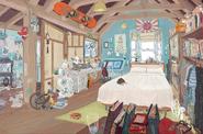 Tadashi bedroom