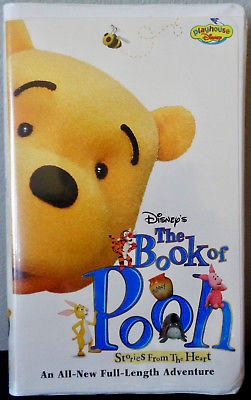 The Book Of Pooh Stories From The Heart VHS