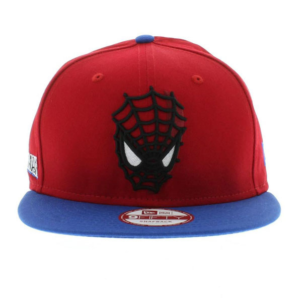 3e0439102ea ... low cost 2 spiderman red royal the cabesa punch 2 snapback by new era  cap 2