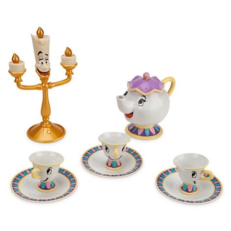 File Beauty And The Beast Deluxe Tea Set Jpg