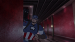 Cap and Panther Secret Wars 10