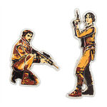 Cassian and Jyn Pins