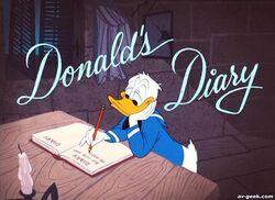 Donalds diary 1954