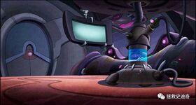 Stitch & Ai spacecraft interior shot